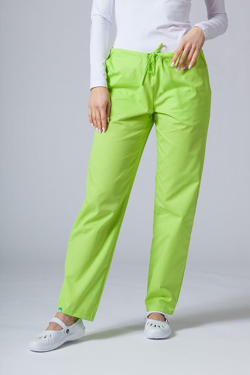 Univerzální lékařské kalhoty Sunrise Uniforms limetkové