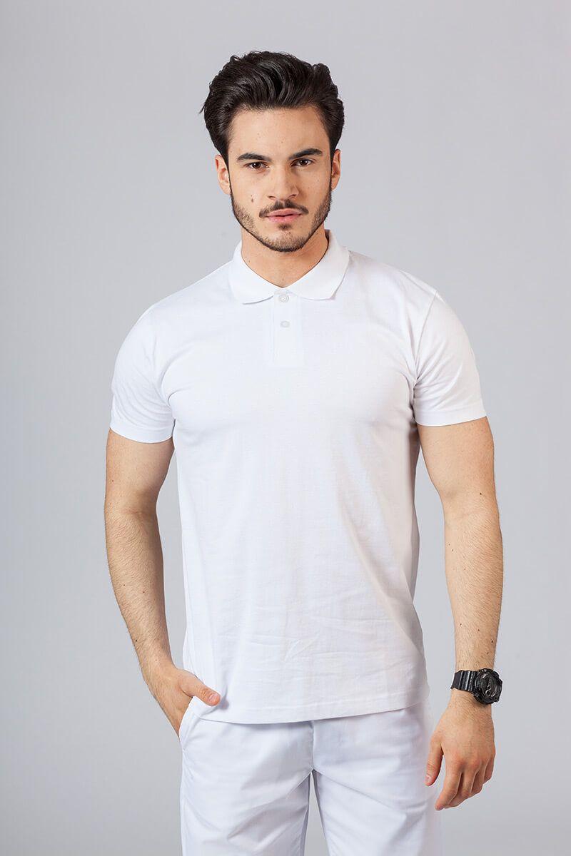Pánské Polo tričko bílé
