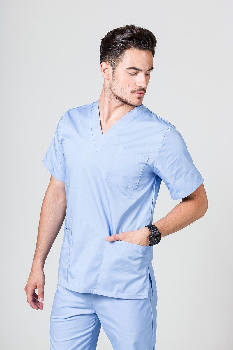 Univerzální lékařská mikina Sunrise Uniforms modrá