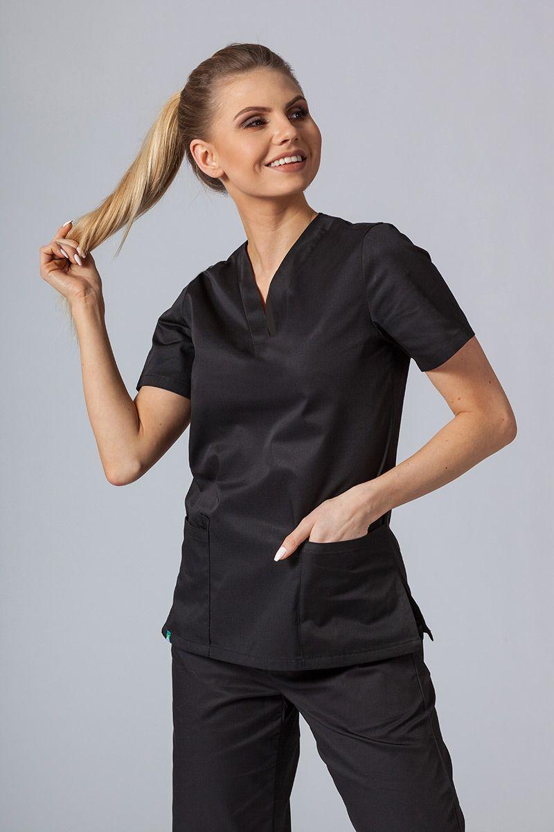 Lékařská halena Sunrise Uniforms černá