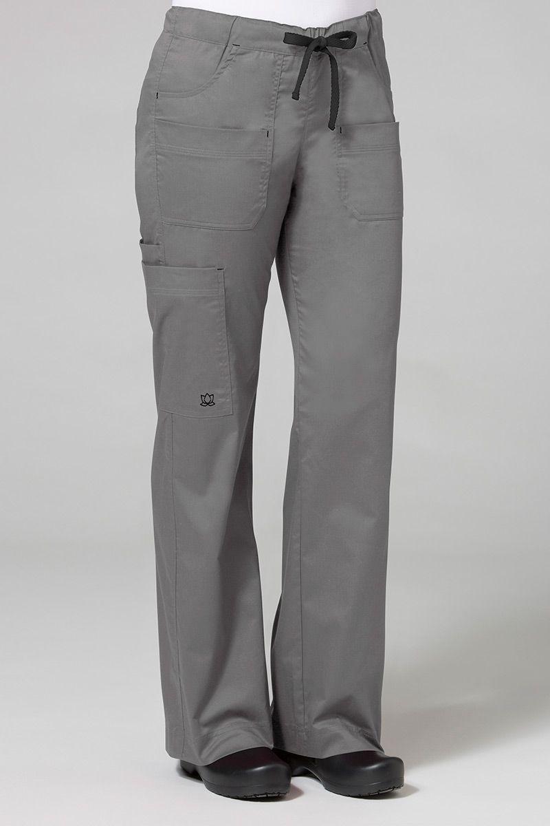 Lékařské kalhoty Maevn Blossom (elastic) šedé