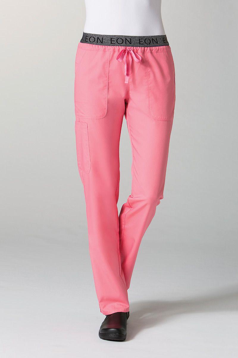 Lékařské kalhoty Maevn EON Style lososová