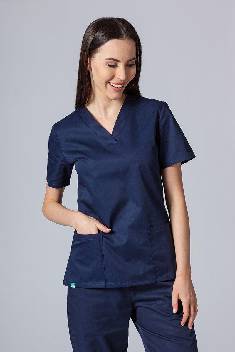 Lékařská halena sunrise uniforms námořnická modř