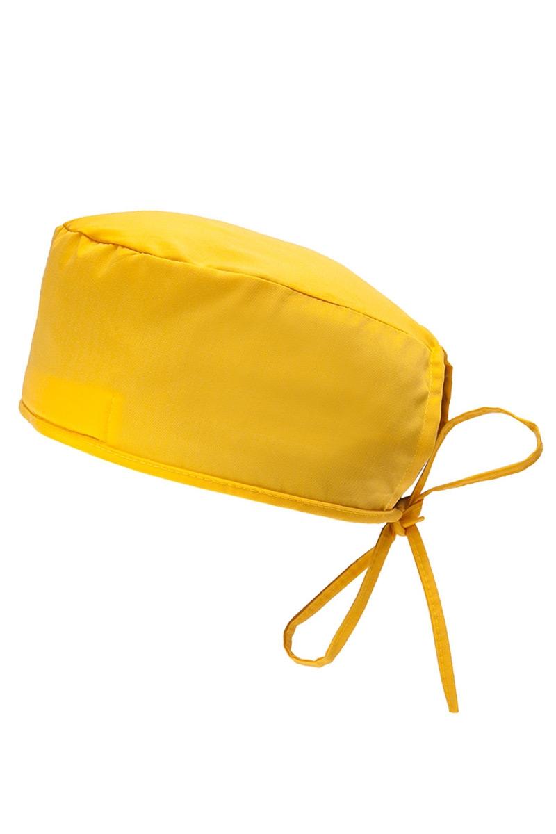 Lékařská čepice Sunrise Uniforms žlutá