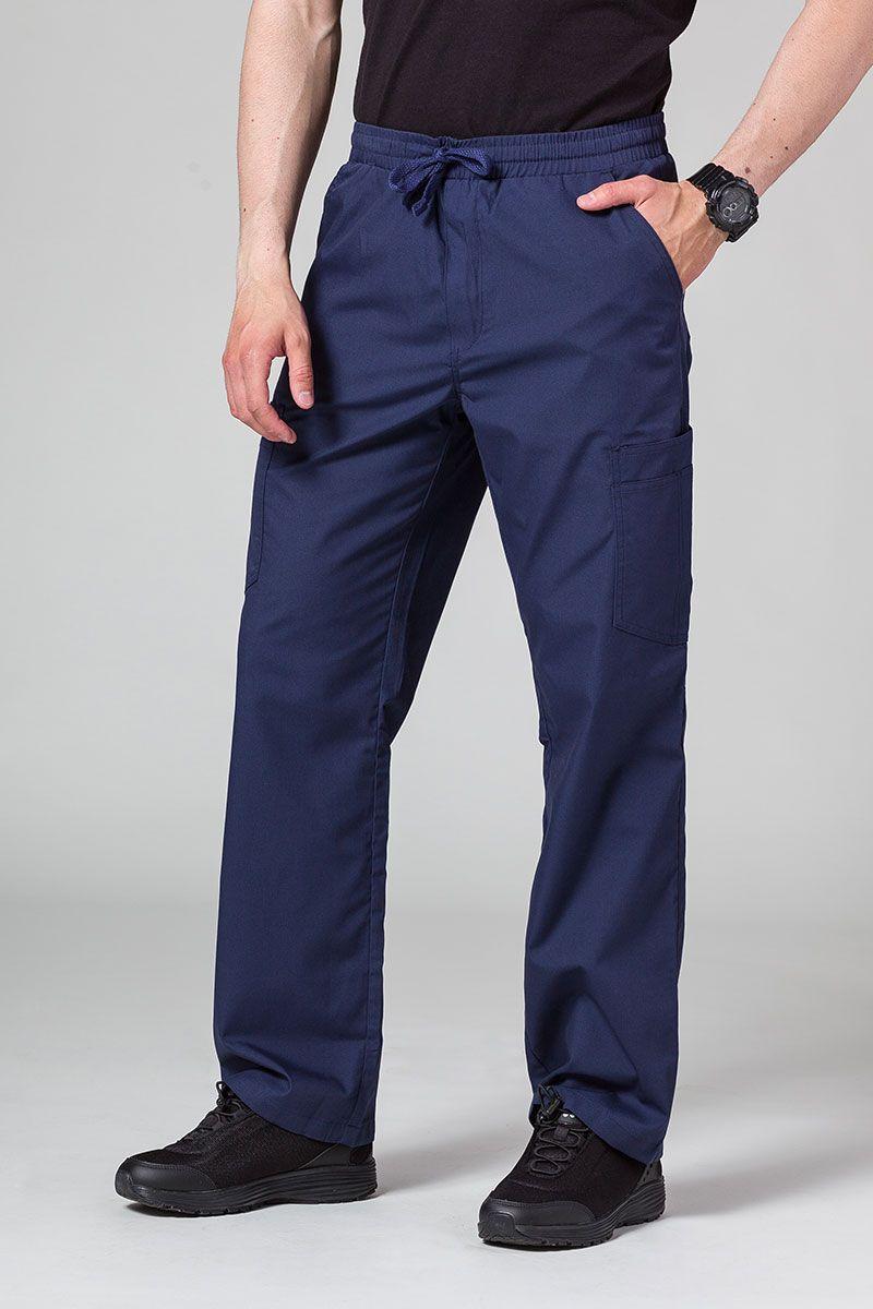 Pánské lékařské kalhoty Maevn Red Panda Cargo (6 kapes) námořnická modř