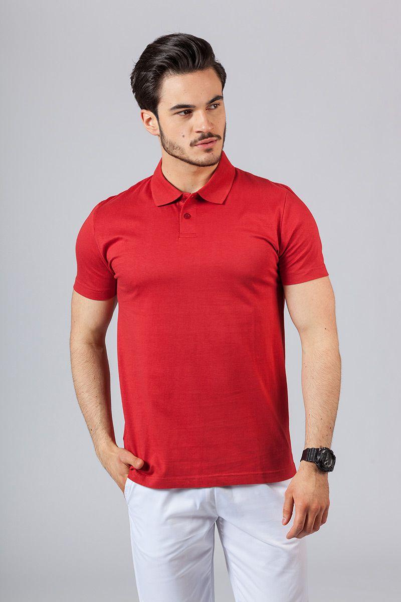 Pánské Polo tričko červené