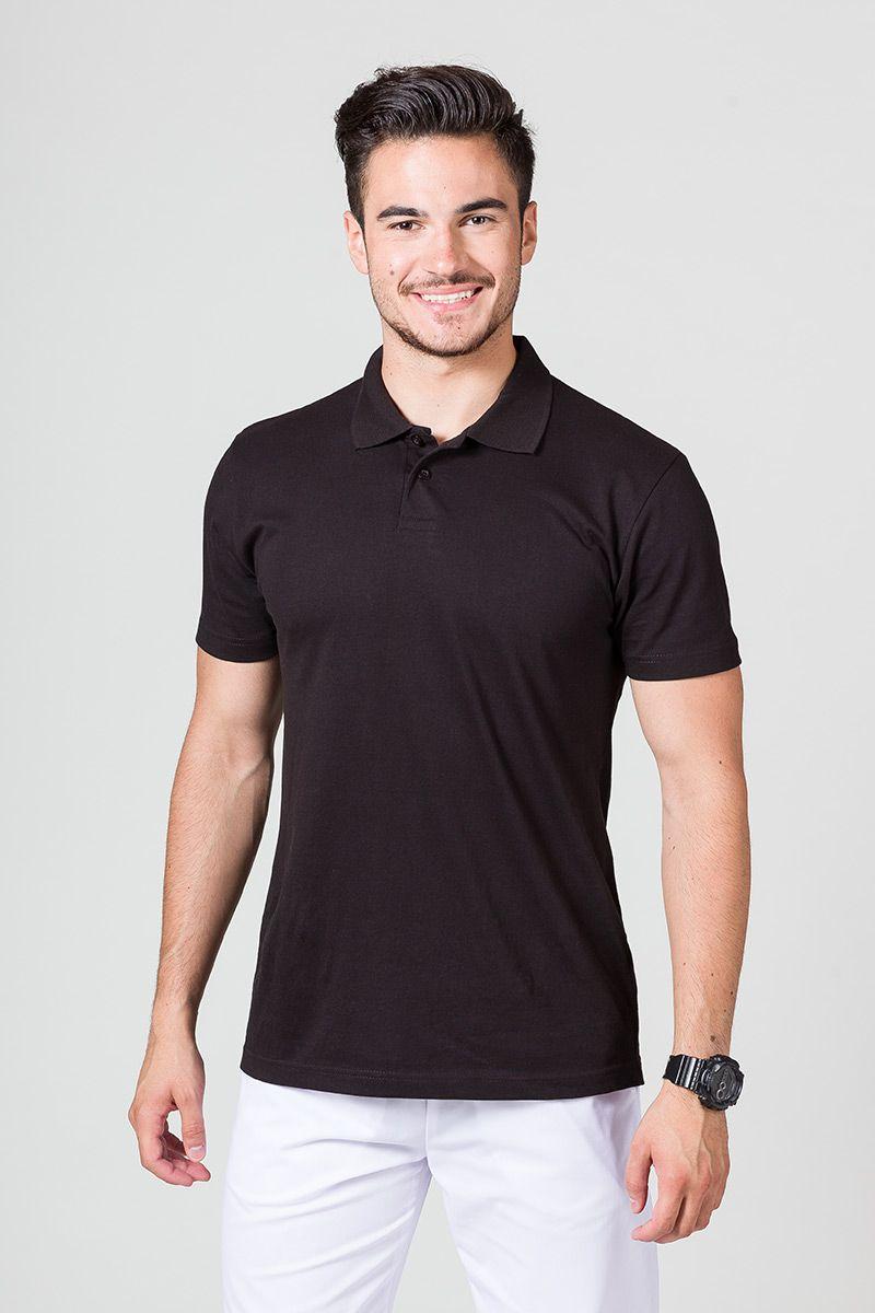 Pánské Polo tričko černé