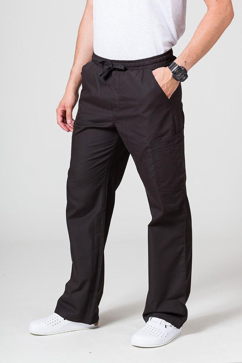 Pánské lékařské kalhoty Maevn Red Panda Cargo (6 kapes) černé