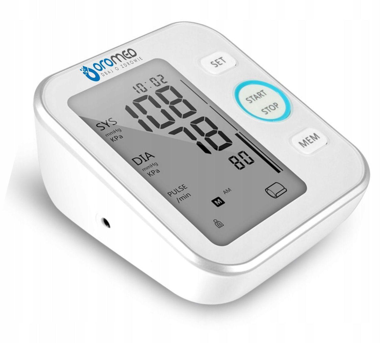 Základní automatický digitální monitor krevního tlaku Oromed Basic