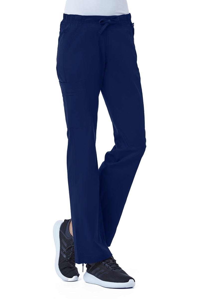Lékařské kalhoty Maevn Blossom (elastic) námořnická modř