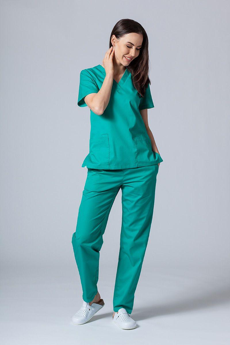Zdravotnická souprava Sunrise Uniforms zelená