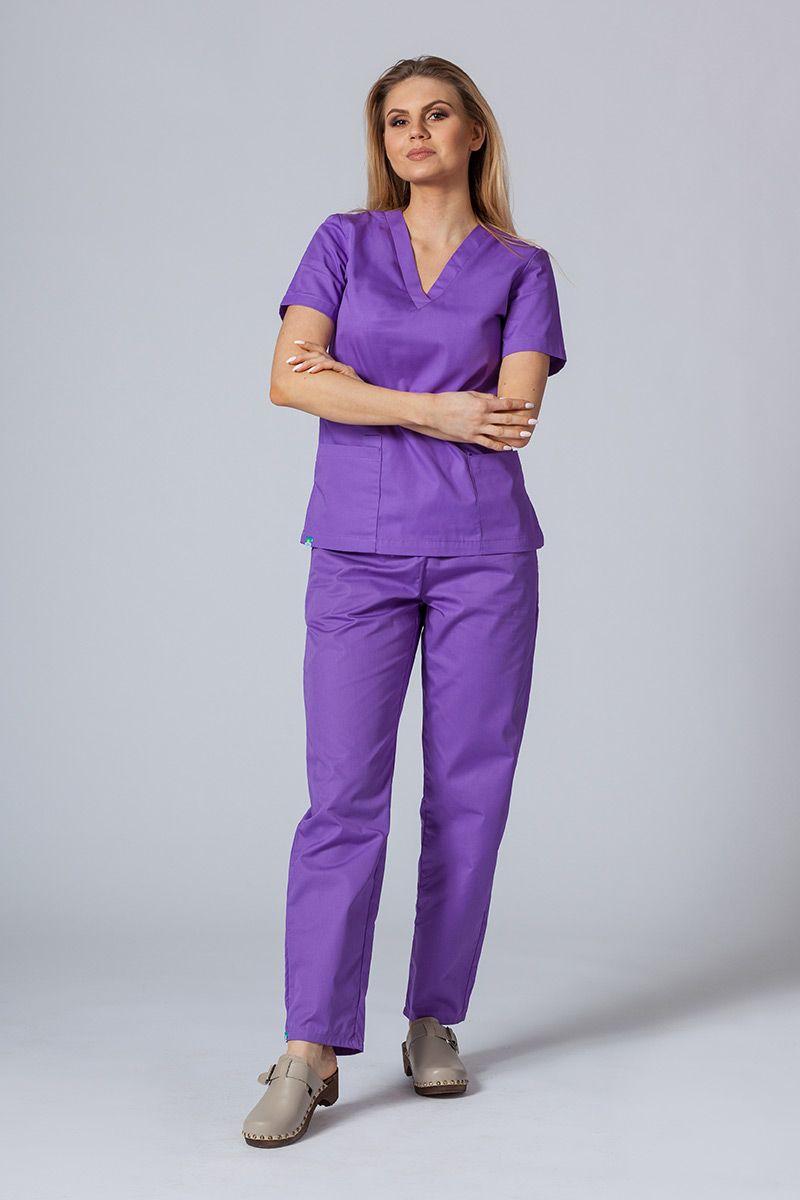 Zdravotnická souprava Sunrise Uniforms fialová