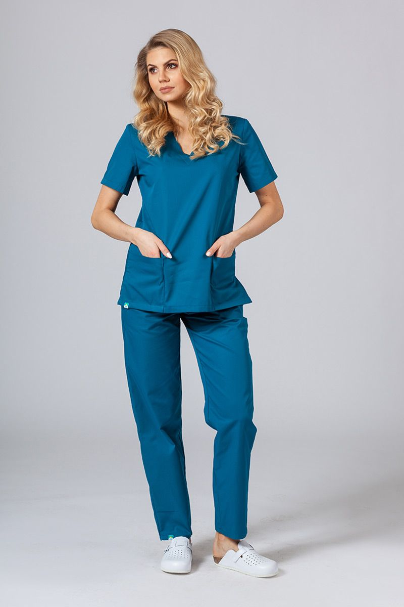 Zdravotnická souprava Sunrise Uniforms karibsky modrá
