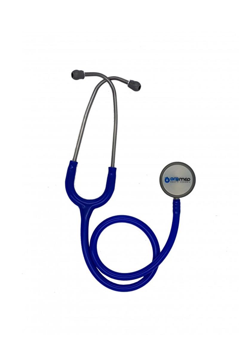 Internistický stetoskop Oromed oboustranný - tmavě modrý