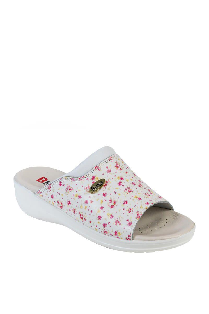 Zdravotní obuv Buxa model Professional Med30 mini květy gucci