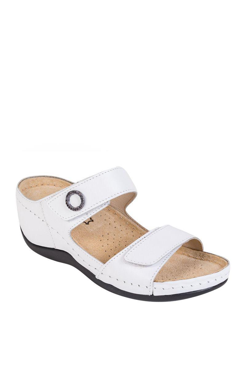 Zdravotní obuv Buxa Anatomic BZ310 bílá