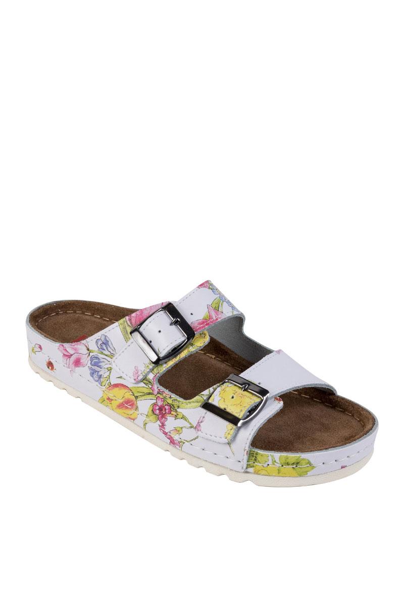 Zdravotní obuv Buxa model Memory BZ110 květiny