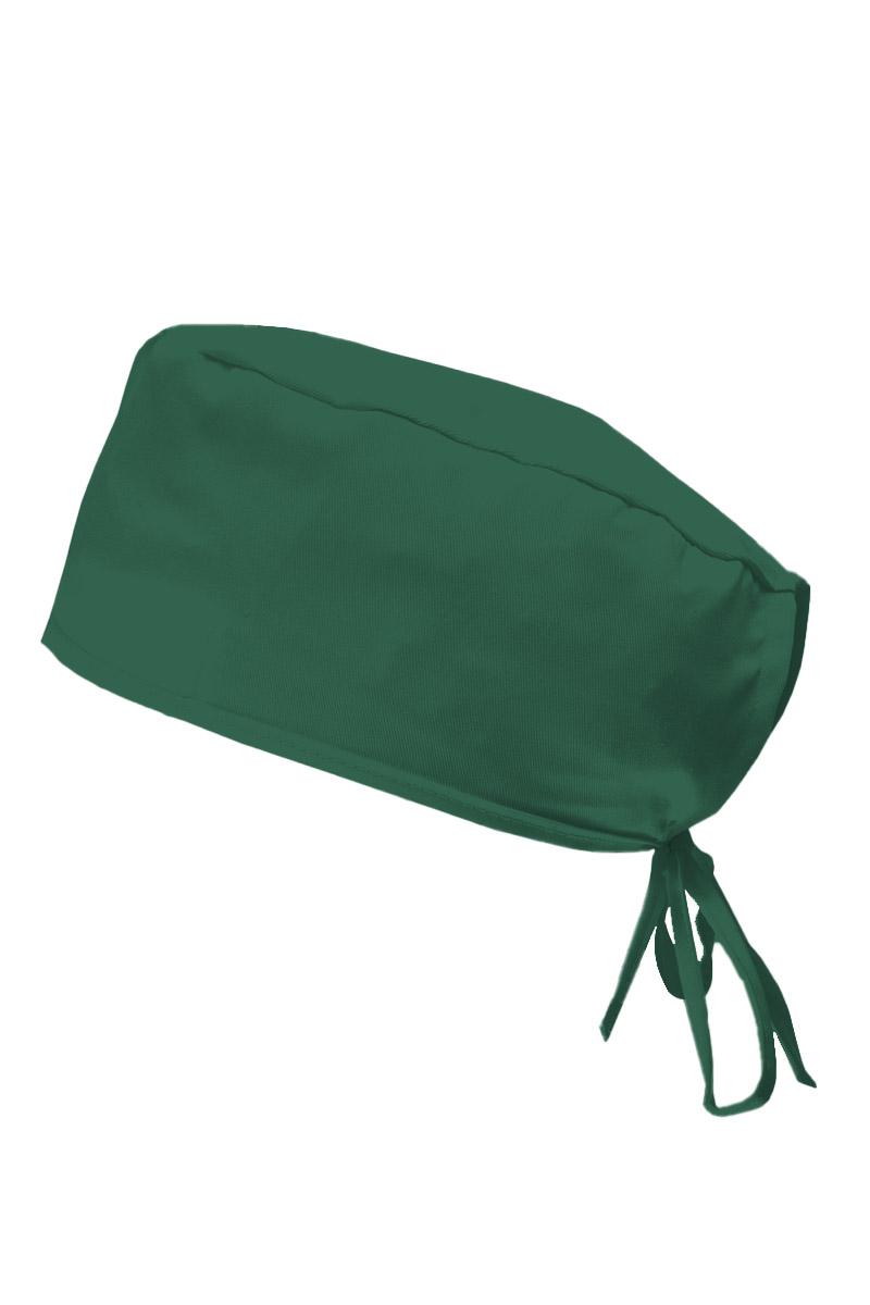 Lékařská čepice Sunrise Uniforms tmavě zelená