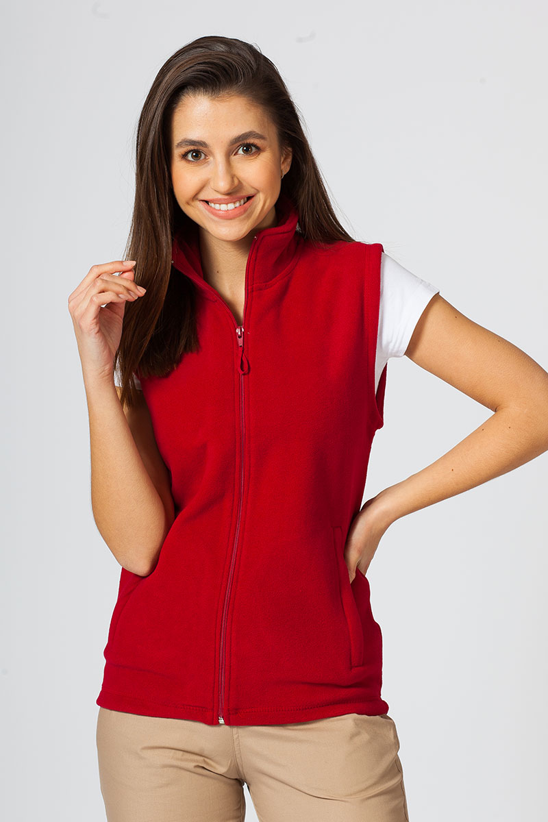 Dámská vesta Malfini červená