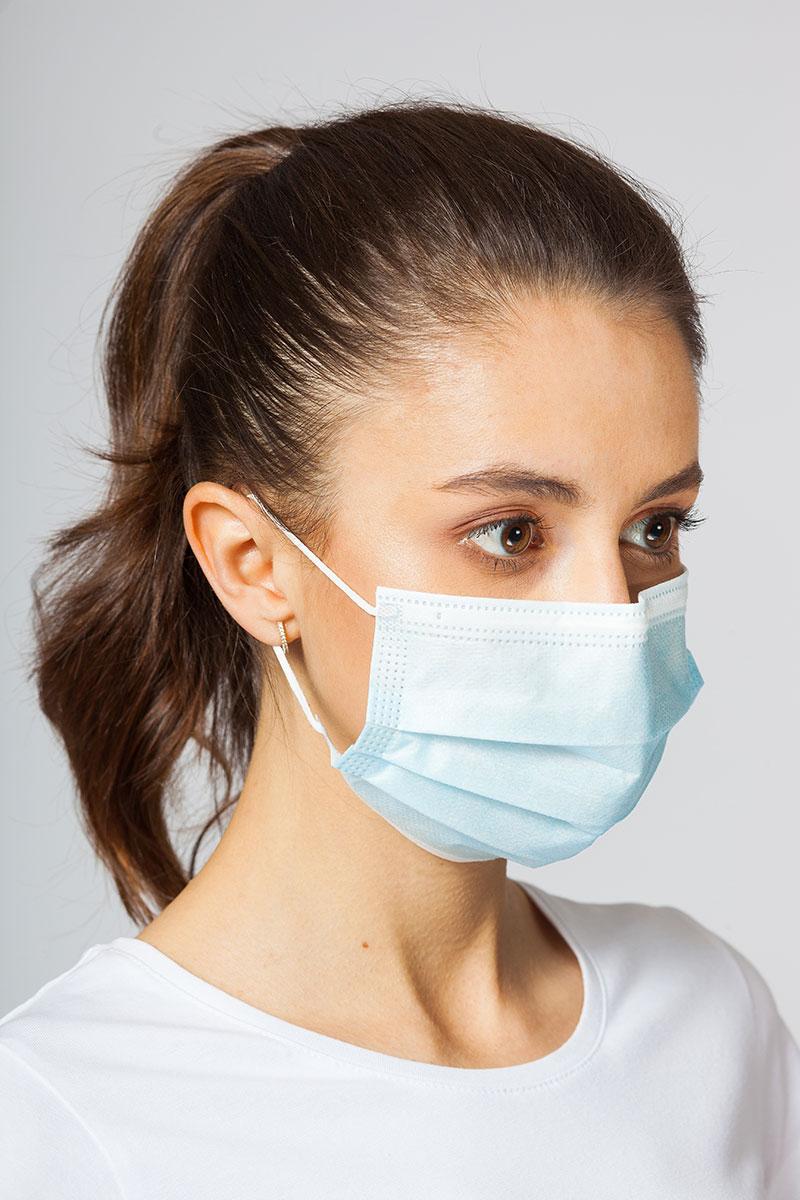 Certifikovaná ochranná maska 3-vrstvová, jednorázová, 50 ks v balení