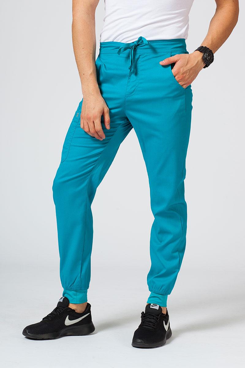 Lékařské kalhoty Maevn Matrix Men mořsky modré
