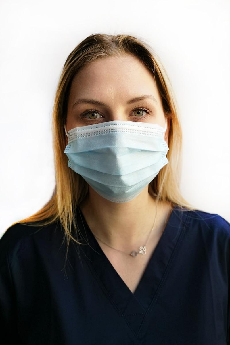 Certifikovaná ochranná maska 3-vrstva, jednorázová