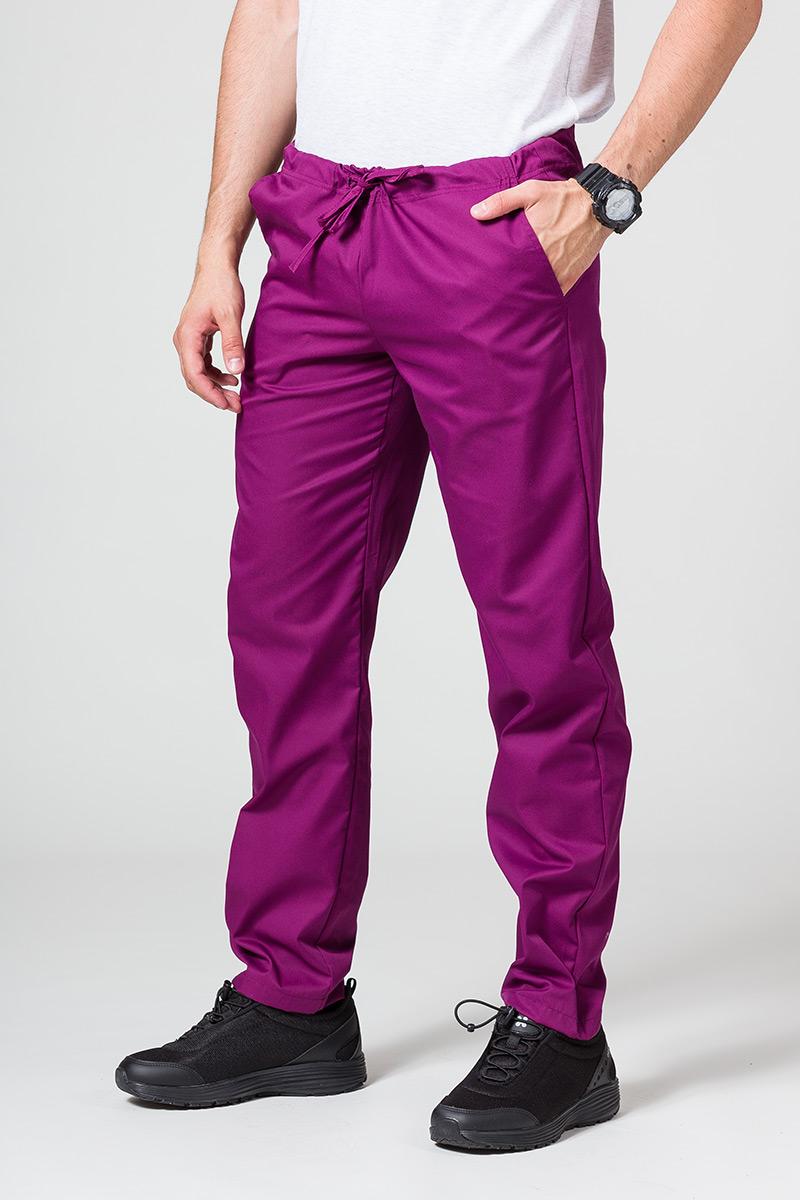 Univerzální lékařské kalhoty Sunrise Uniforms jasně lilkové