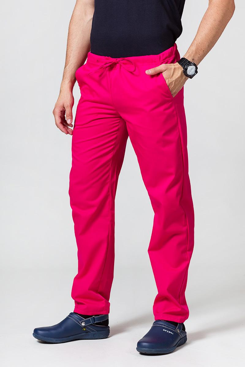 Univerzální lékařské kalhoty Sunrise Uniforms malinové