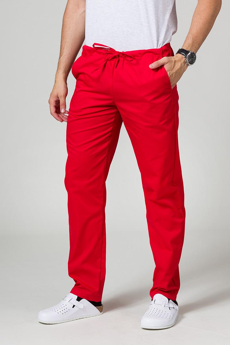 Univerzální lékařské kalhoty Sunrise Uniforms červené