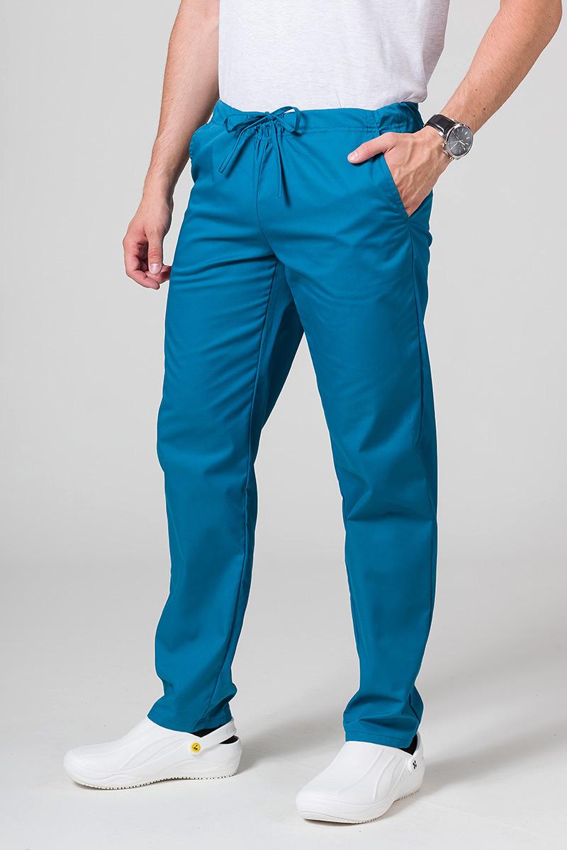 Univerzální lékařské kalhoty Sunrise Uniforms karibsky modré