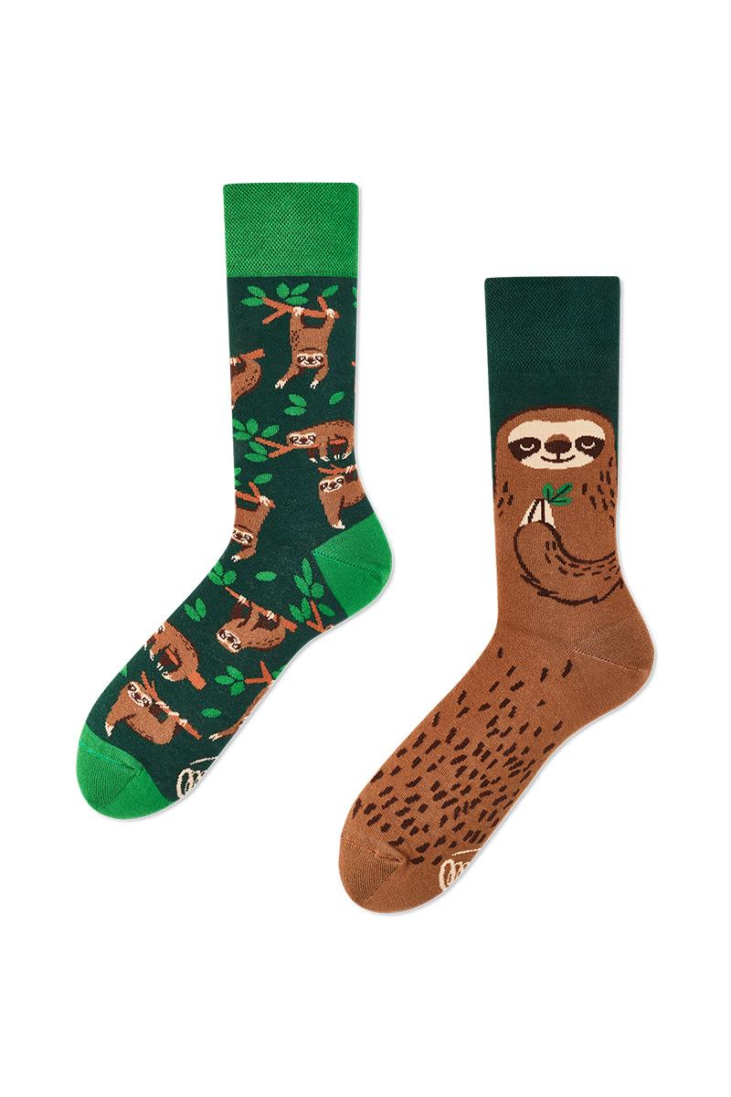 Barevné ponožky Sloth Life - Many Mornings