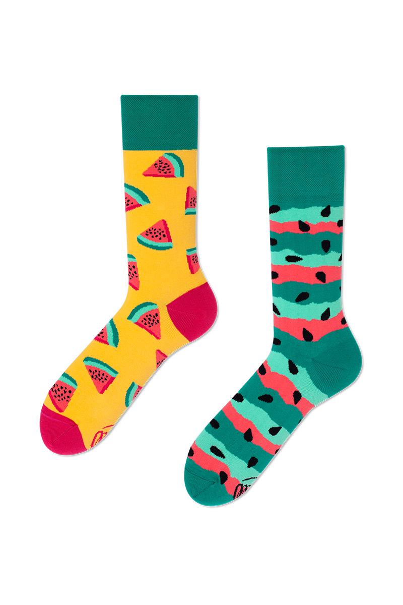 Barevné ponožky Watermelon Splash - Many Mornings