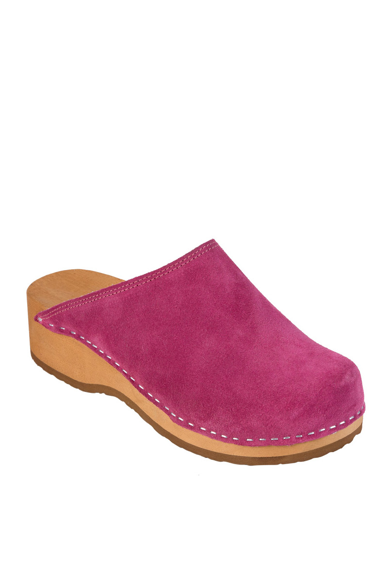 Zdravotní obuv Buxa model PZM1 semiš fuchsie