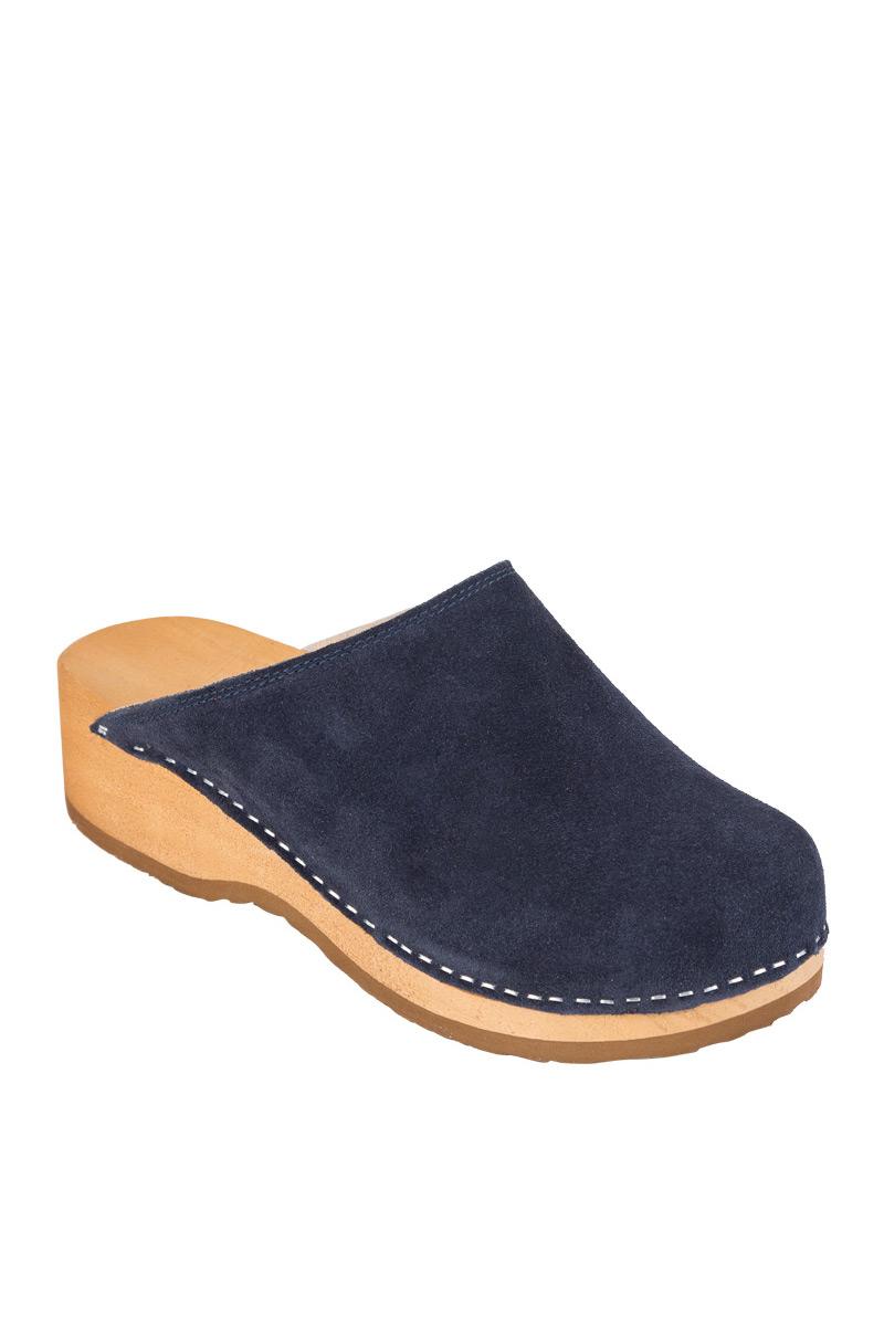 dravotní obuv Buxa model PZM1 semiš námořnická modř