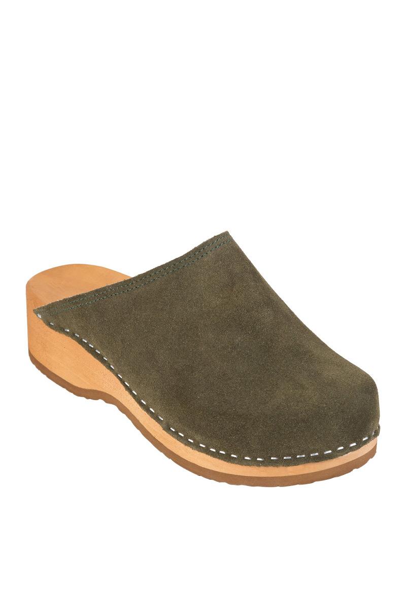 Zdravotní obuv Buxa model PZM1 zelený semiš